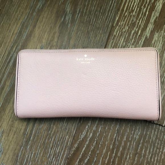 kate spade Handbags - Kate Spade Pink Continental Wallet